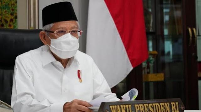 Pernyataan Ma'ruf Amin soal Wafatnya Ulama Dikecam, Jubir Klarifikasi: Itu Kutipan Hadis