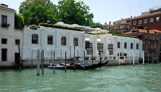 The Peggy Guggenheim Collection is housed in the  Palazzo Venier dei Leoni on the Grand Canal