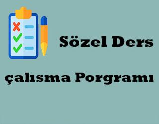sözel-ders-çalışma-programı