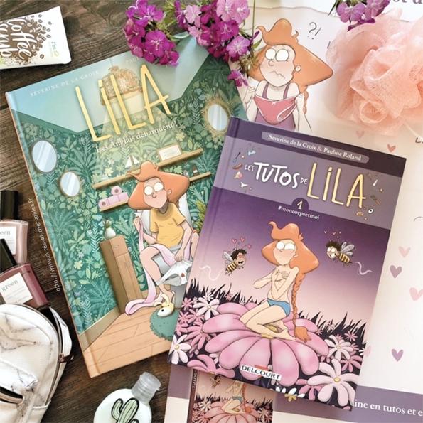 """Lila - Les anglais débarquent"" & ""Les tutos de Lila - #moncorpsetmoi"""