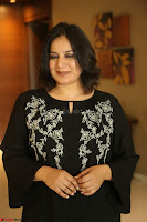 Cute Poja Gandhi in black dress at Dandupalyam 2 Movie press meet  ~  Exclusive 82.JPG