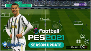 Download PES 2021 PPSSPP Android Camera PS5 Original New Update Faces Kits & Season Update Transfer