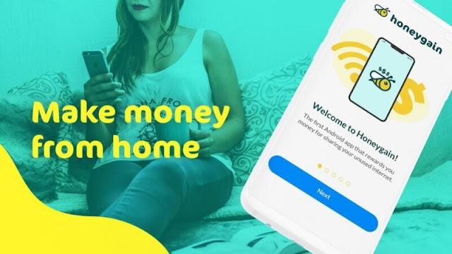 Treo máy kiếm tiền trên App HoneyGain?