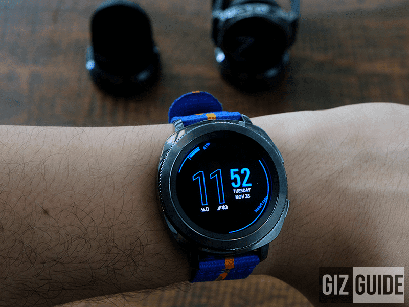 Meet Samsung Gear Sport - Tizen powered athletics focused Smartwatch?
