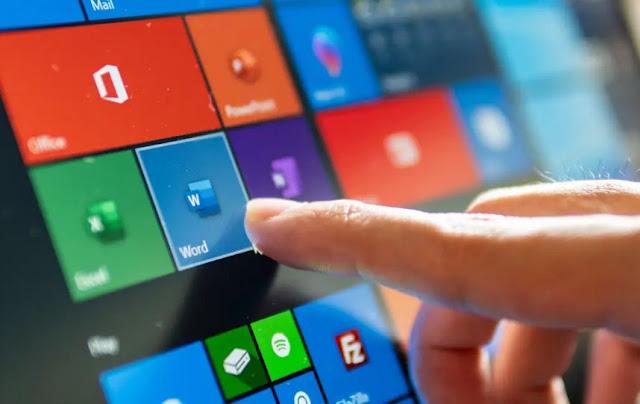 Mengaktifkan dan Menonaktifkan Touch Screen di Windows 10