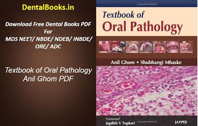Textbook of Oral Pathology Anil Ghom PDF