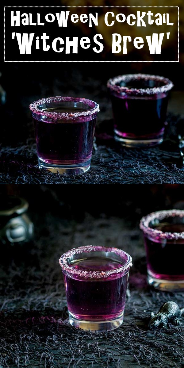 'Witches Brew'- A Halloween Cocktail #halloweenrecipes