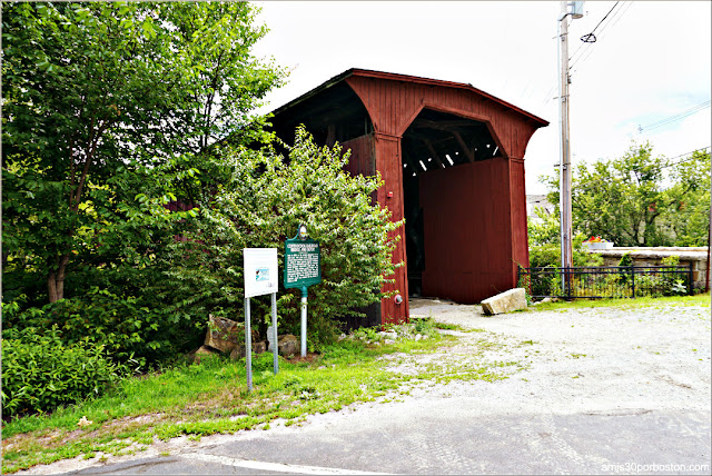 Contoocook Railroad Covered Bridge en New Hampshire