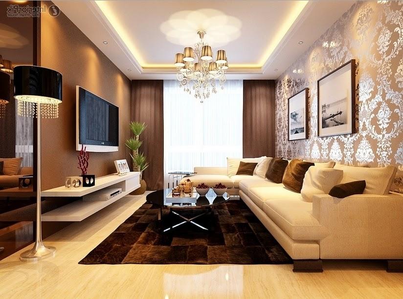Desain Ruang Tamu Mewah Terbaru 2017
