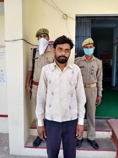 कोतवाली जालौन पुलिस द्वारा अवैध शराब के साथ अभियुक्त गिरफ्तार  Kotwali Jalaun police arrested accused with illegal liquor        संवाददाता, Journalist Anil Prabhakar.                 www.upviral24.in