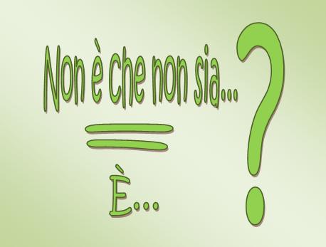 Romina Tamerici La Doppia Negazione Afferma