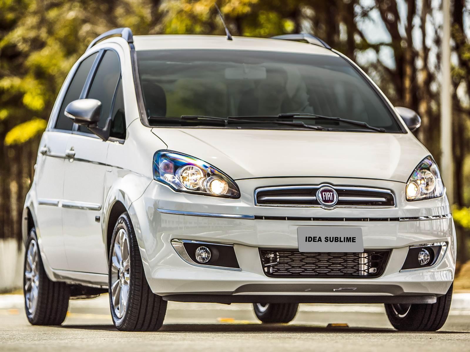 Fiat Idea 2016 - Leilão