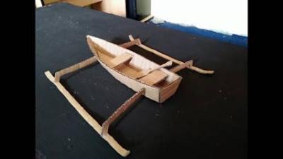Cara Membuat Perahu Mainan dari Kardus Bekas Beserta Gambarnya