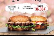 Carl's Jr Promo Beli 2 Burger Hanya Rp.36.364