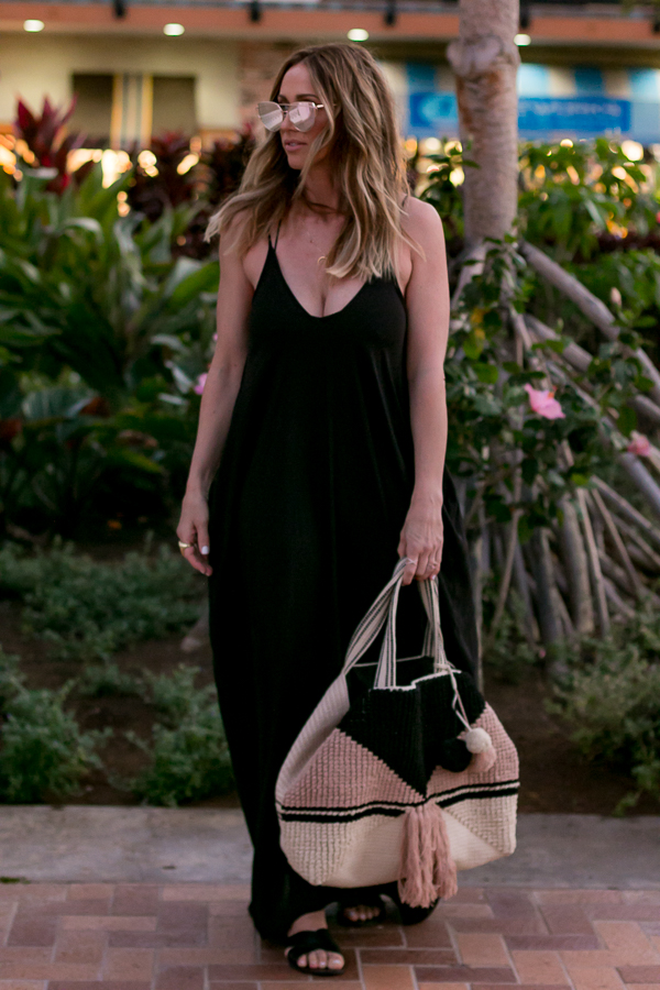 casual vacation maxi dress style