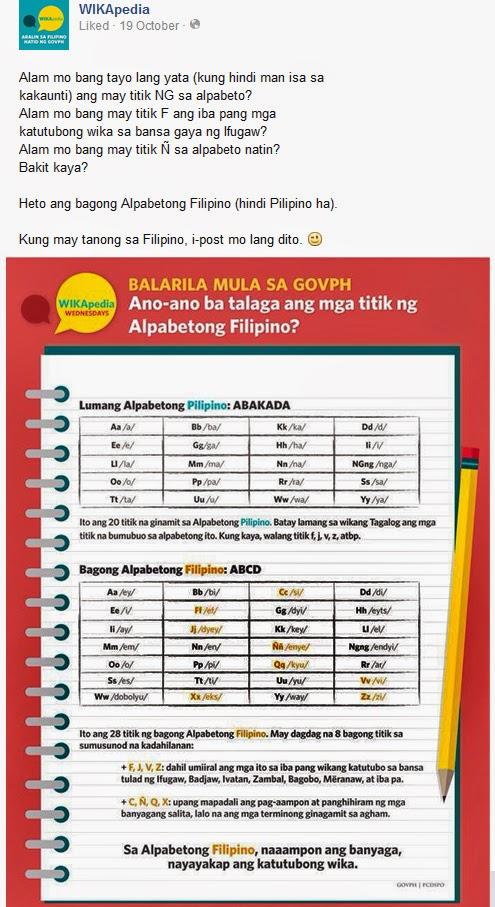 Ang bagong Alpabetong Filipino (ABCD) ay may 28 na titik.