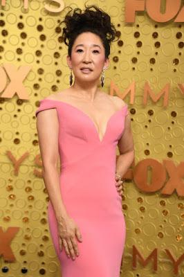 Sandra Oh Emmys 2019