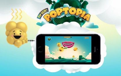 Introducing the first scented smart phone game, from Pop Secret and Deutsch LA