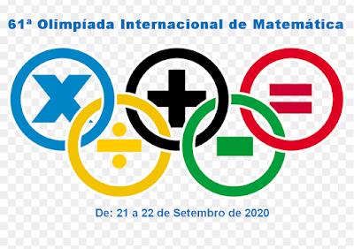 O Matemático, Pedagogo e Psicopedagogo Valdivino Sousa fala da 61ª Olimpíada Internacional de Matemática    Essa é a primeira vez que a olimpíada vai ser realizada pela internet, pois ninguém esperava o mundo interiro está passando por uma pandemia. E, sendo assim, neste ano, devido à pandemia da Covid-19, as provas serão pela internet.