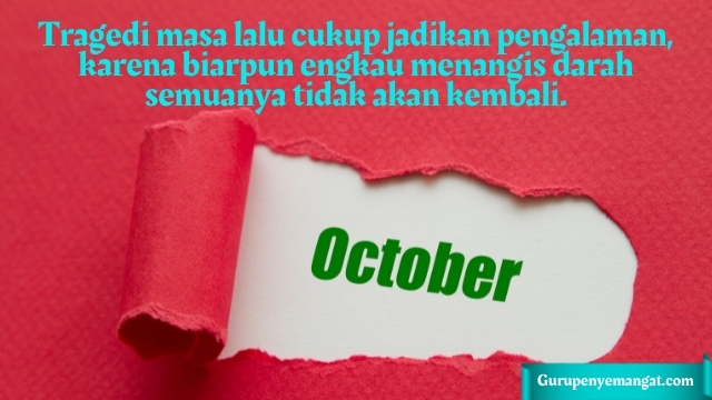 Kata Bijak Ucapan Menyambut Bulan Oktober