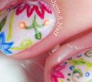 http://onceuponnails.blogspot.com/2016/03/flower-pillows.html