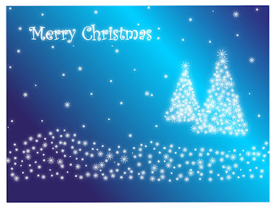christmas background images blue