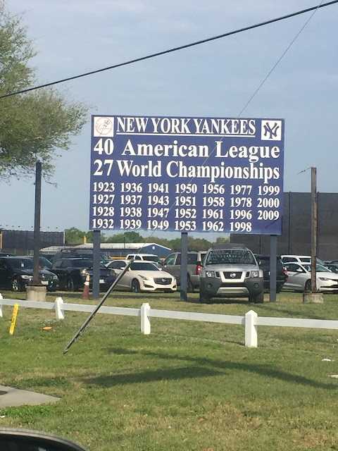 Tampa, Florida - New York Yankees practice