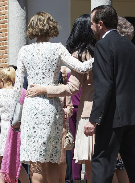 King Felipe VI of Spain, Queen Letizia of Spain, King Juan Carlos of Spain, Queen Sofia of Spain and Princess Leonor of Spain and Princess Sofia of Spain