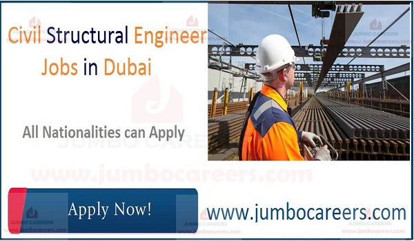 Civil Structural Engineer Jobs in Dubai