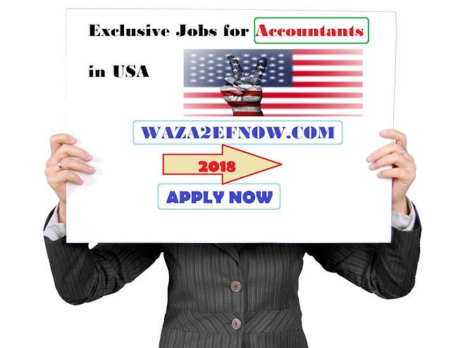 Exclusive Jobs for Accountants in USA للمحاسبين 2018 | وظائف ناو