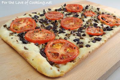 Olive and Tomato Focaccia