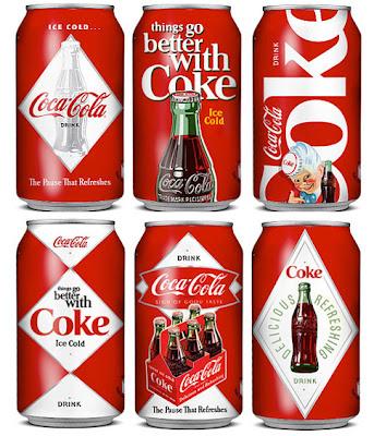 Diseño retro de Coca-Cola por Serbia