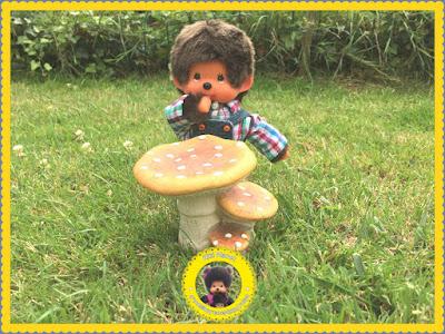monchhichi bubbles diana nain jardin champignon contes de fées