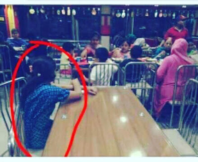 viral pembantu tidak diajak makan oleh majikannya di restoran