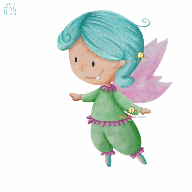 Tooth fairy digital stamp