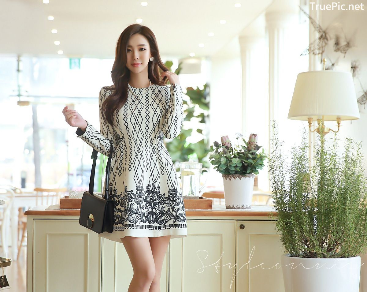 Image-Korean-Fashion-Model-Park-Da-Hyun-Office-Dress-Collection-TruePic.net- Picture-3