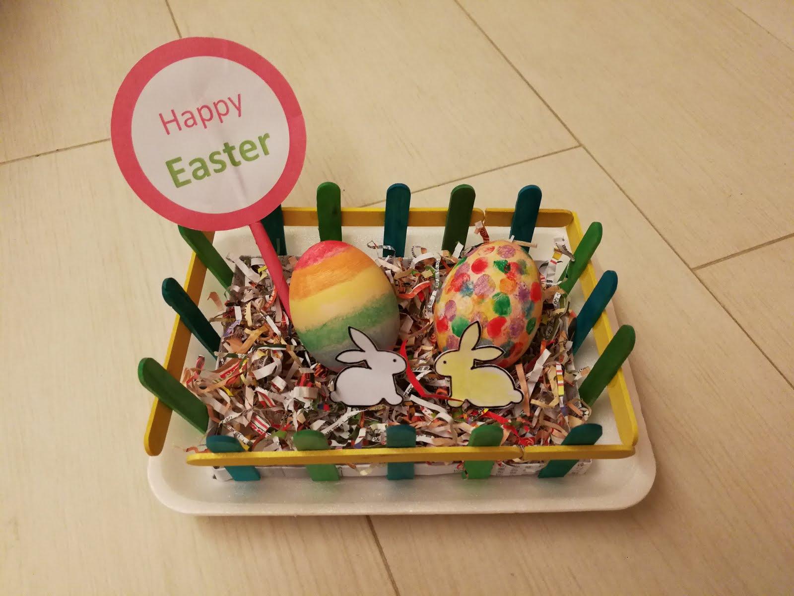 馬卡媽媽 生活誌: [DIY] 親子復活蛋Easter Egg
