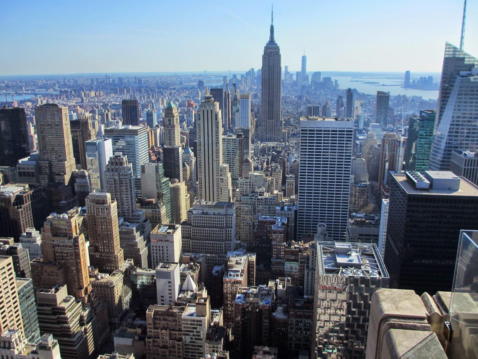 Subir ao TOP OF THE ROCK, ou como estar no Top of the World, em Nova Iorque | EUA