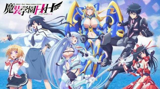 Masou Gakuen HxH - Anime Action Romance Harem Terbaik