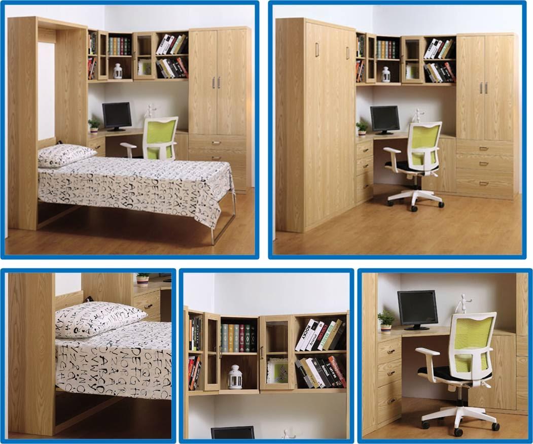 Muebles inteligentes camas plegables - Camas muebles plegables ...
