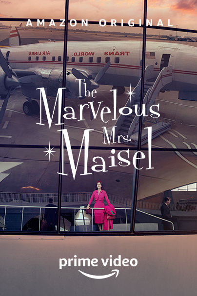 'The Marvelous Mrs. Maisel' póster tercera temporada