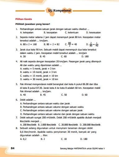 kunci jawaban buku senang belajar matematika kelas 5 kurikulum 2013