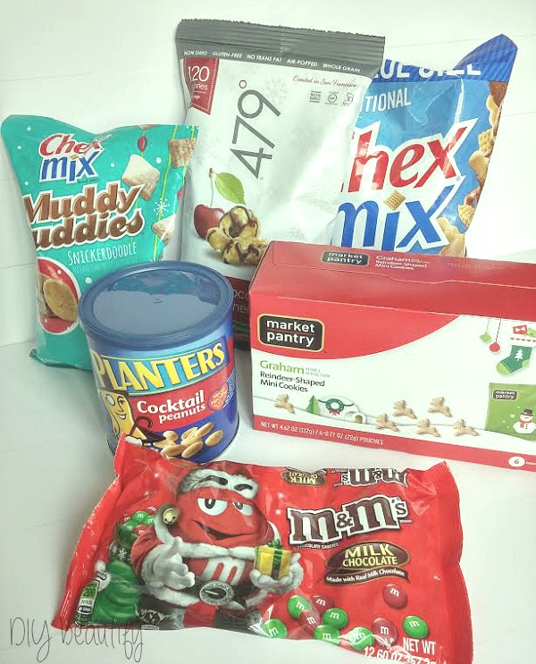 holiday snack mix ingredients