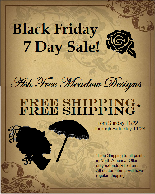 BLACK FRIDAY SALE ASH TREE MEADOW DESIGNS