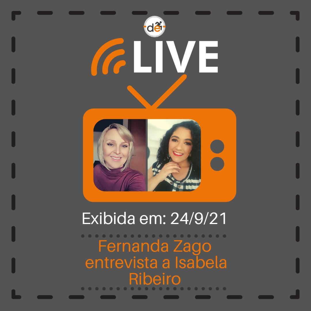 Live com a Isabela Ribeiro