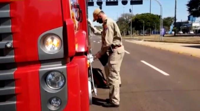 Homem fica com o anel preso e bombeiros são acionados para atendimento no Oeste do Paraná