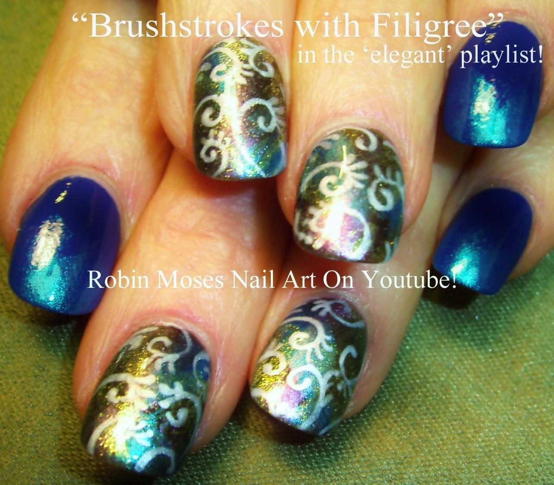 """Nail Art By Robin Moses: """"nye Nails"""" """"new Years Eve Nails"""