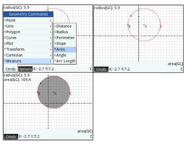Eddie's Math and Calculator Blog: HP Prime Geometry App