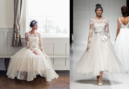 Elegant And Vintage Dresses For Wedding