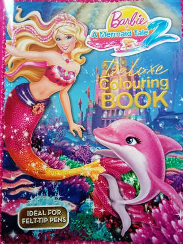 Barbie colouring book - the perfect pictures for adding pretty colours to.